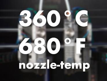 Leapfrog Bolt 3D Printer zozzles