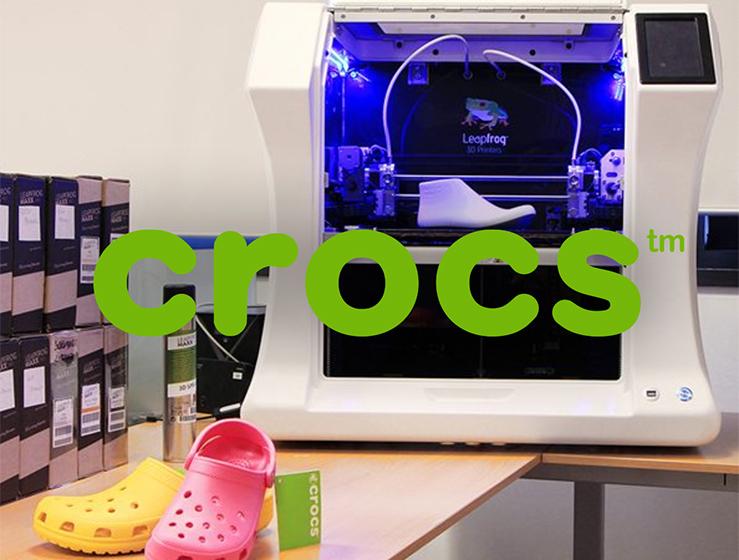 Leapfrog Bolt 3D Printer crocs