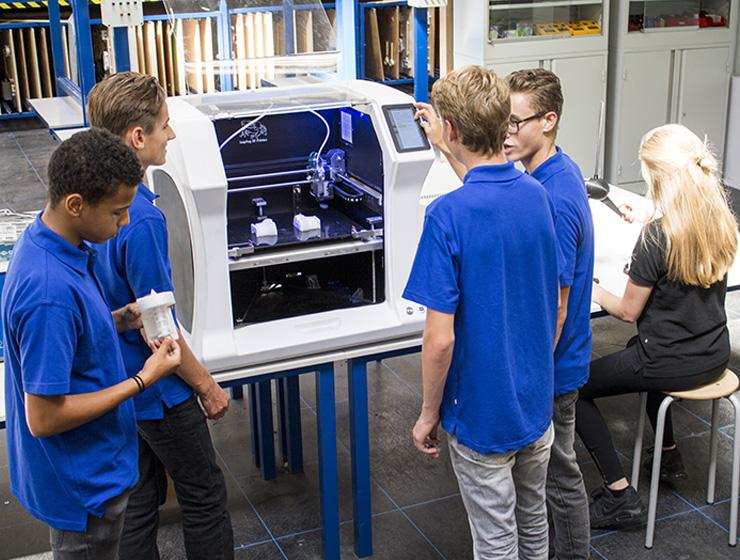 Leapfrog 3D Printers Bolt Education Application