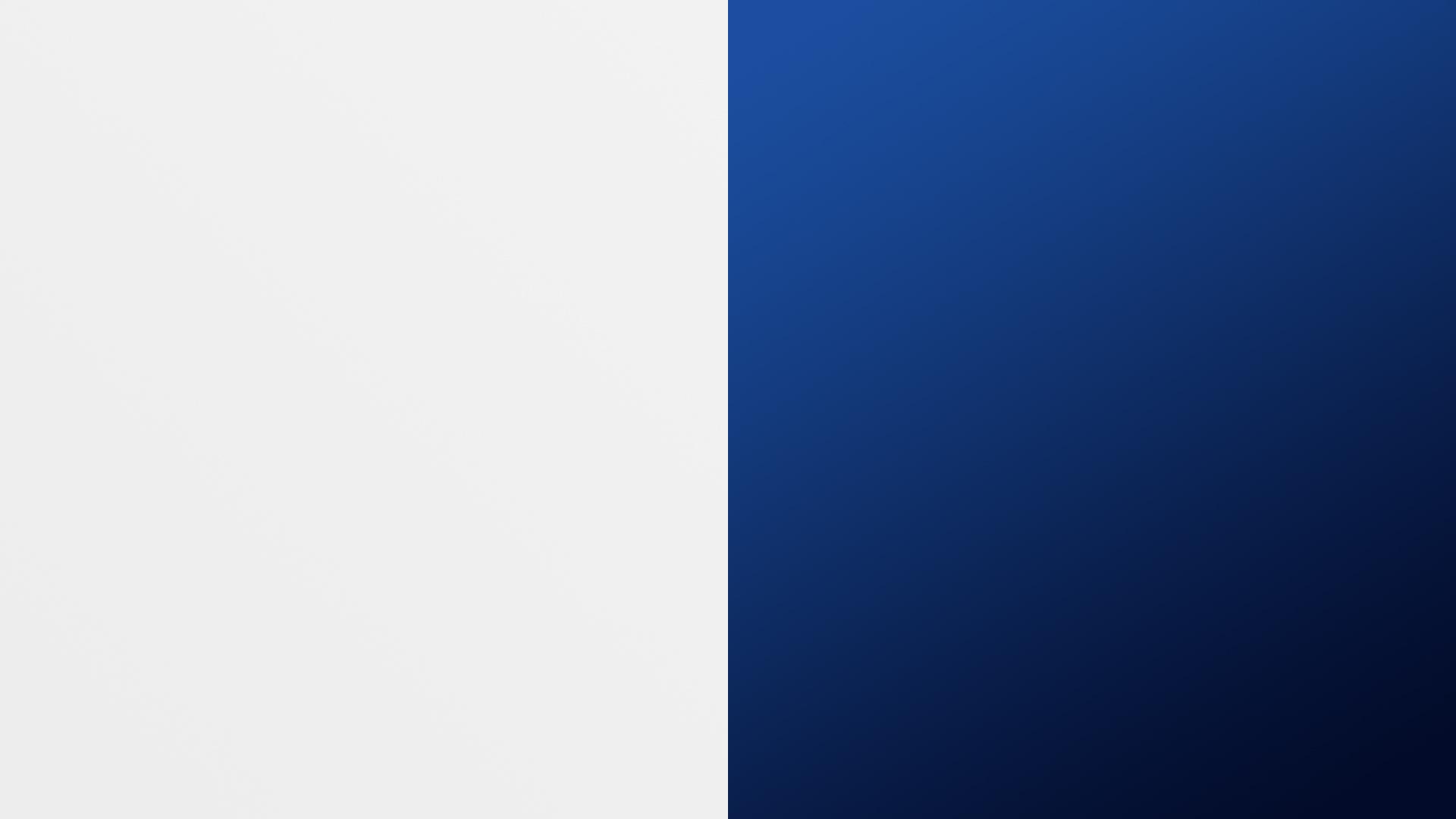 white and dark blue background