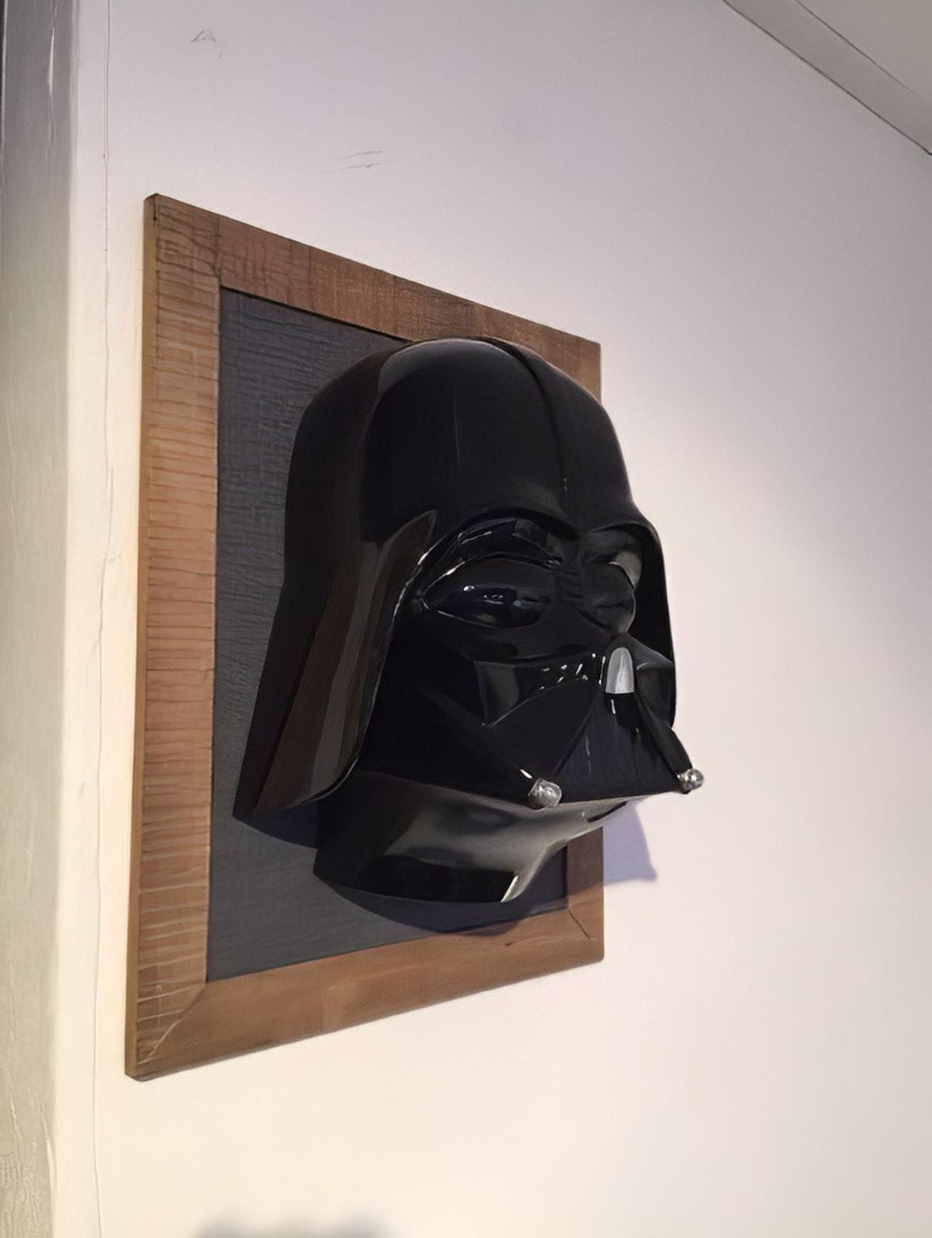 Painted  model Darth Vader