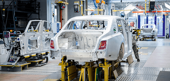 Rolls Royce production line 3D printing