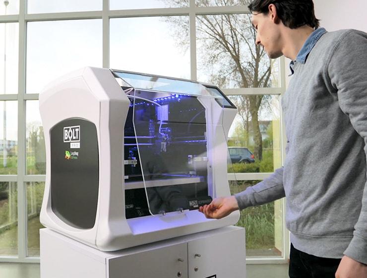 Leapfrog, Bolt Pro 3D printer, user experience