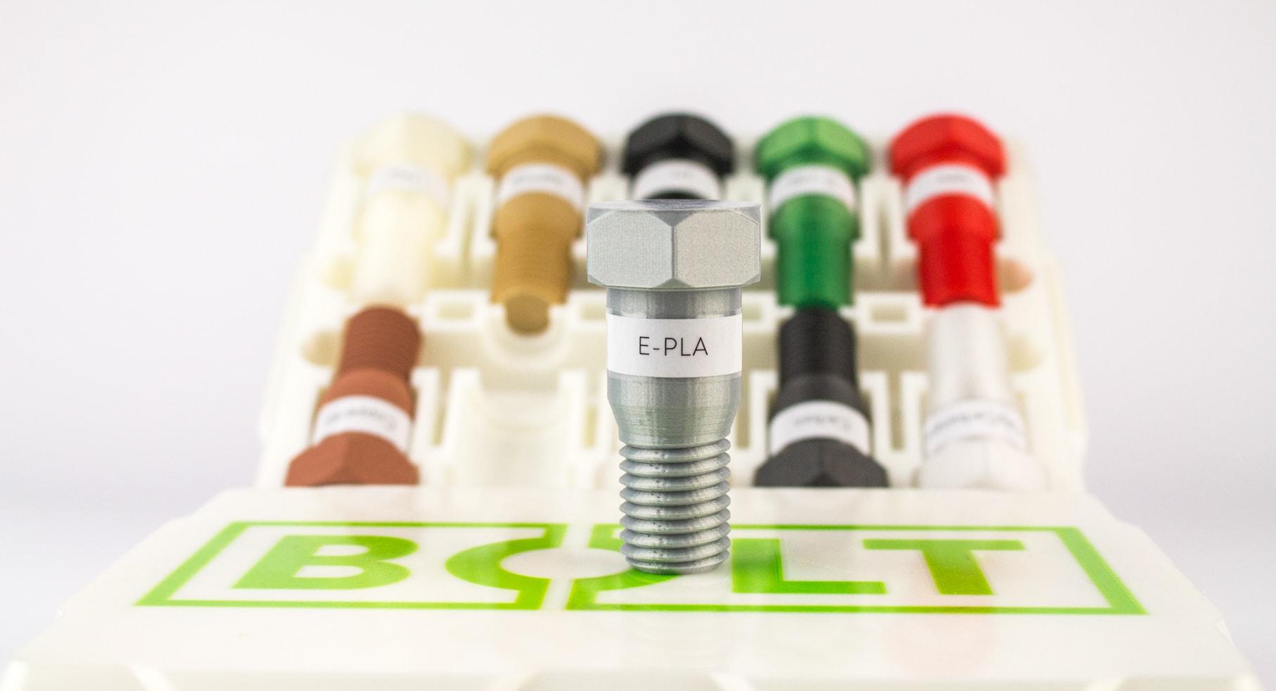 Leapfrog, E-PLA filament, 3D printing
