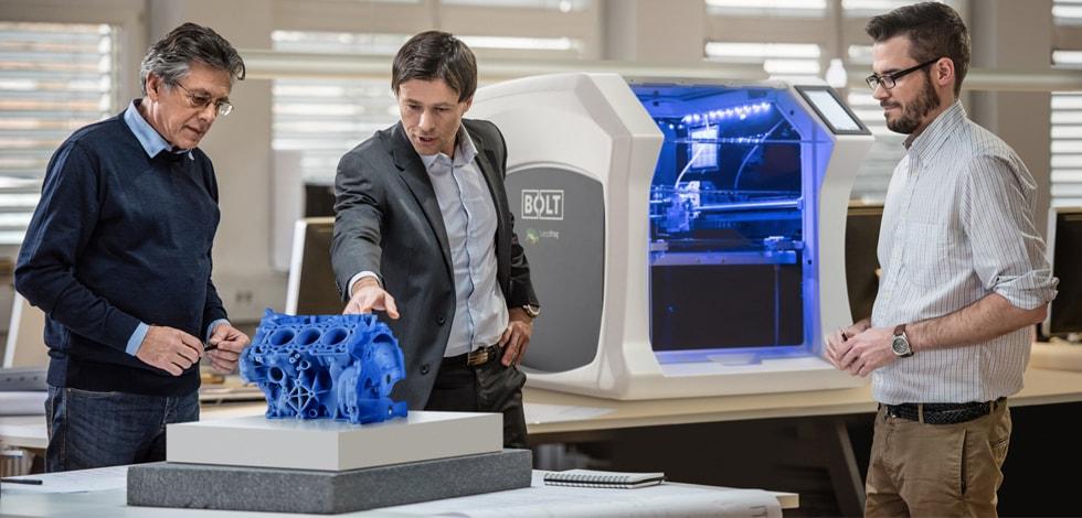 Bolt Pro 3D printers, Leapfrog