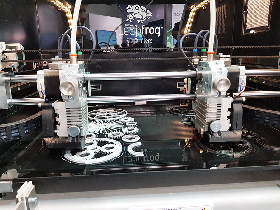 LabelExpo, Leapfrog, Bolt Pro 3D printer