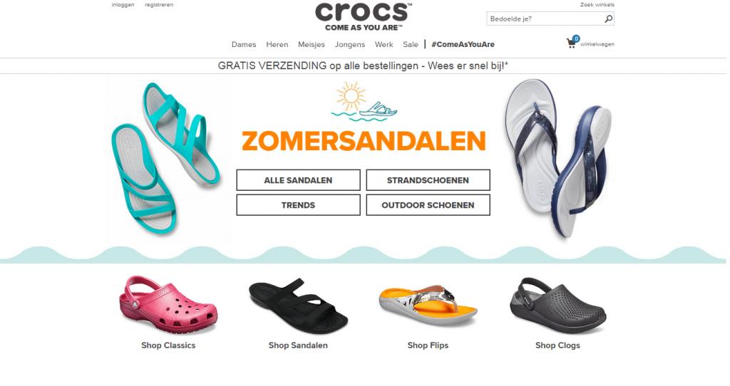 Crocs, Leapfrog