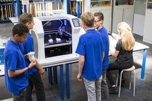 Bolt Pro 3D printers, Leapfrog, students
