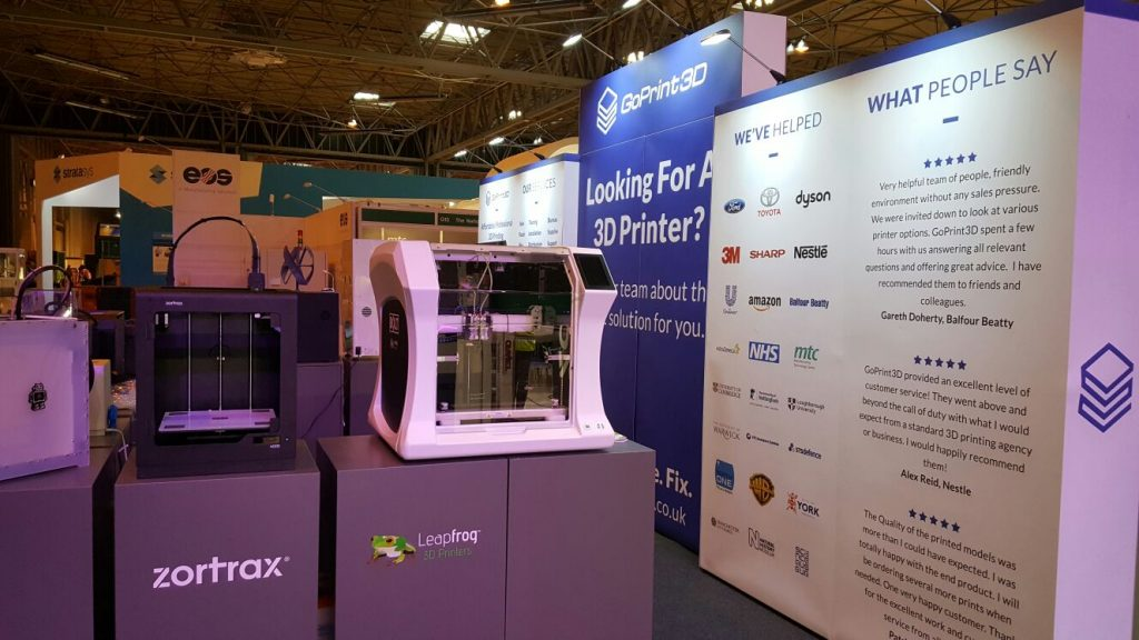 TCT Show, Leapfrog, Bolt Pro 3D printer