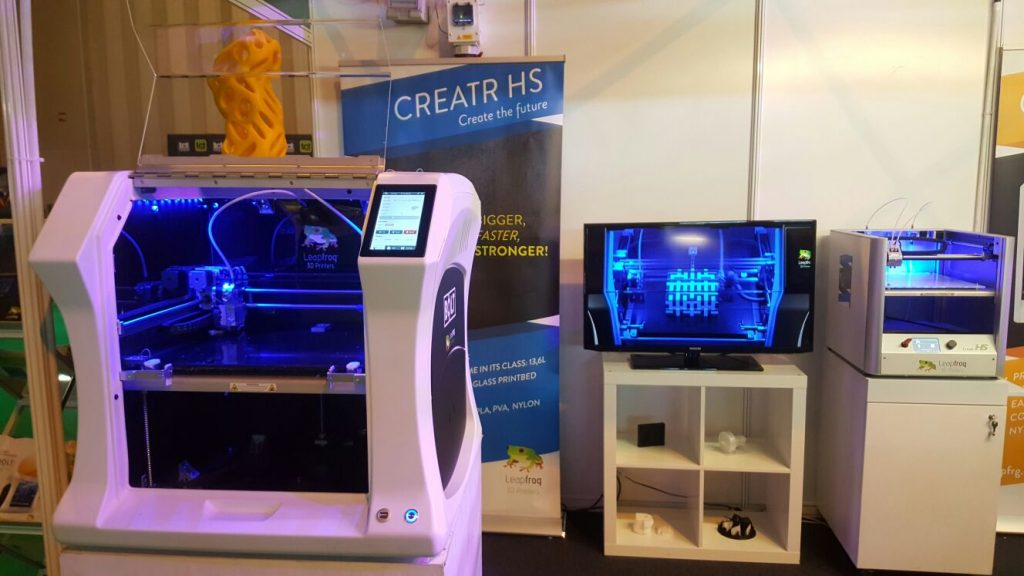 TCT Show, Leapfrog, Bolt Pro 3D printer