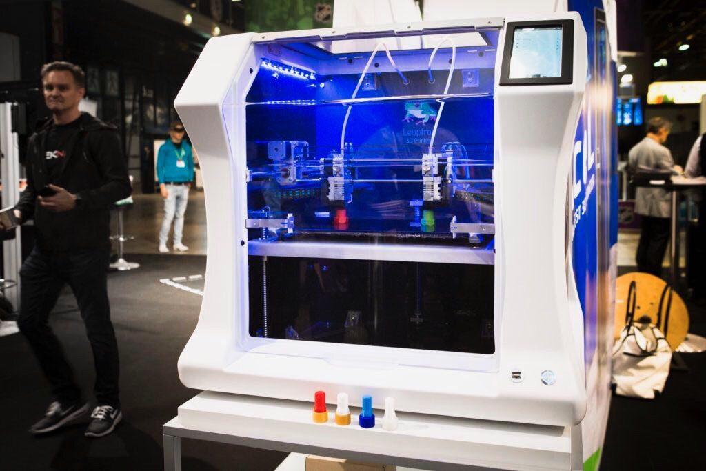 Bolt Pro 3D printer, Leapfrog, DigiExpo, 3D printing