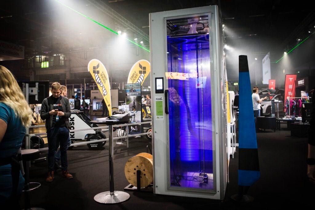 XceL 3D printer, Leapfrog, DigiExpo, 3D printing