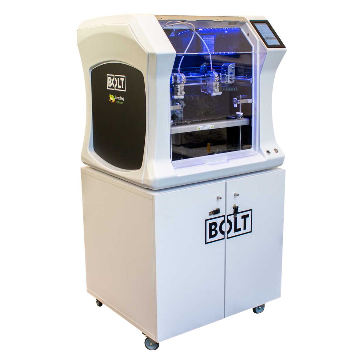 Leapfrog 3D printers, Bolt Pro, station