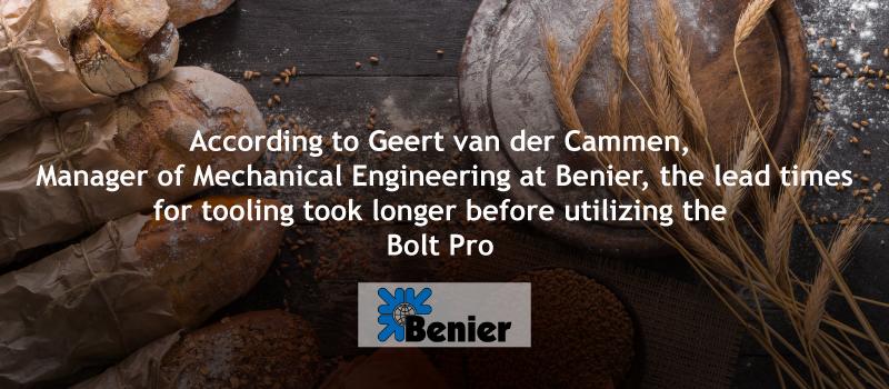 Benier, Bolt Pro 3D printer, leapfrog 3D printers, lpfrg
