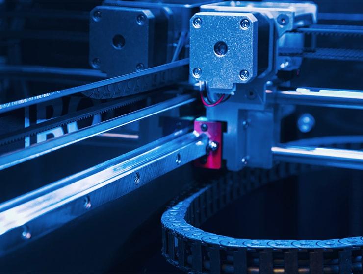 Leapfrog 3d Printer Bolt Pro 3d Printer Linear Guides Min