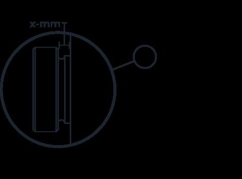 Filament Pressure Thumbscrew