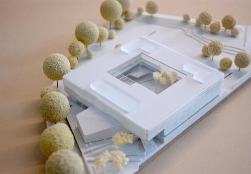 Architecture design 3D printed