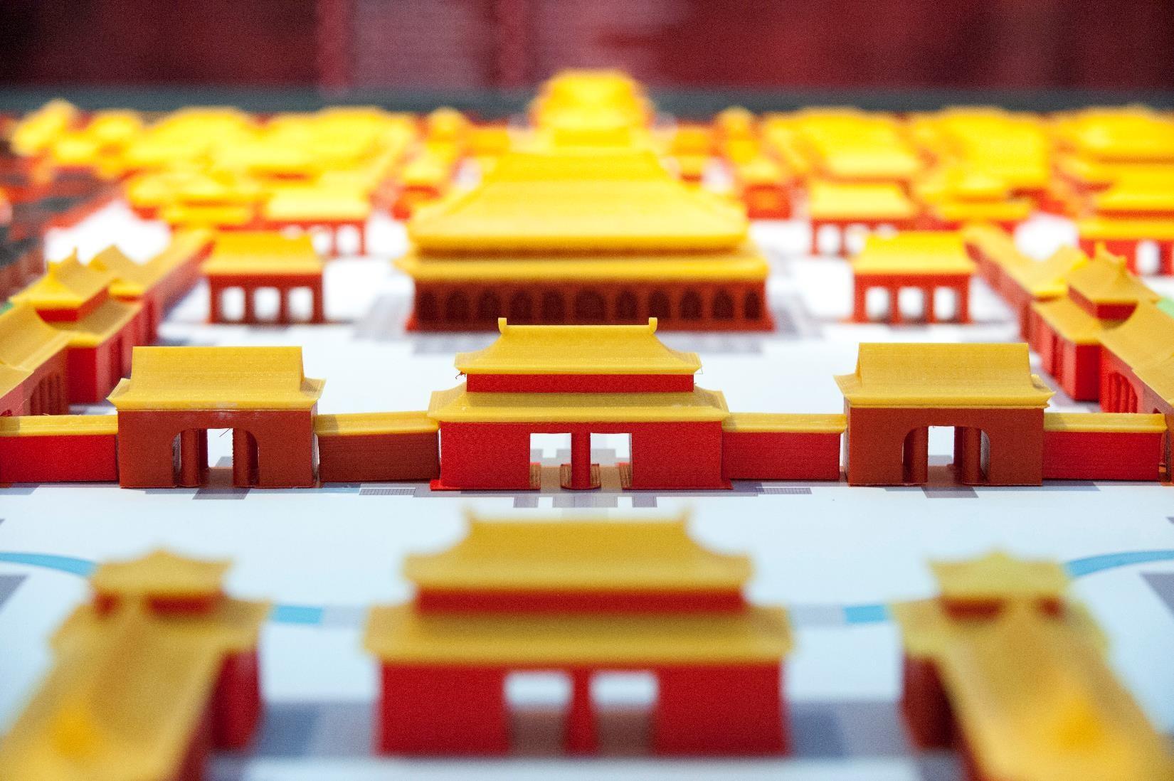 Leapfrog 3 Printerd forbidden city