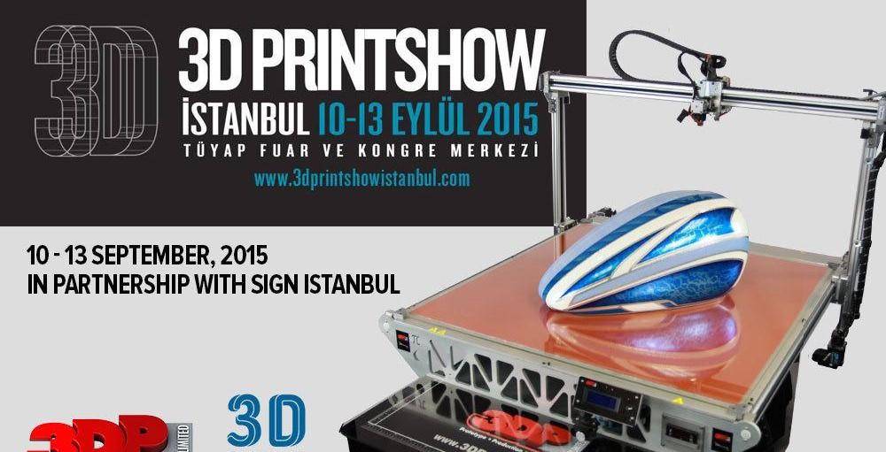 3D Printshow Istanbul