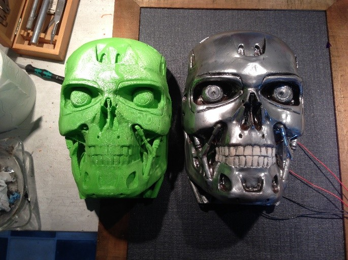 Short guide in painting 3D PLA models | Leapfrog 3D Printers