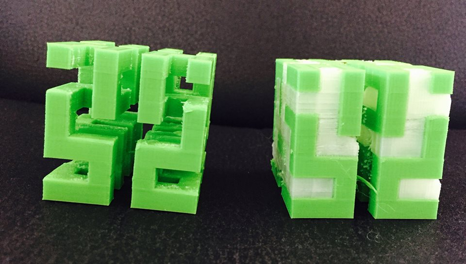 leapfrog bolt independent dual extruders pla-and-pva-soluble-in-water