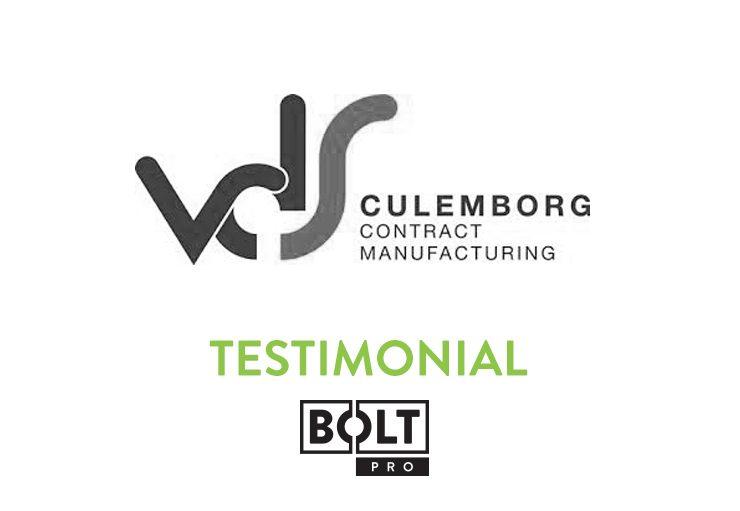 Testimonial - Bolt Pro - VDS Culemborg