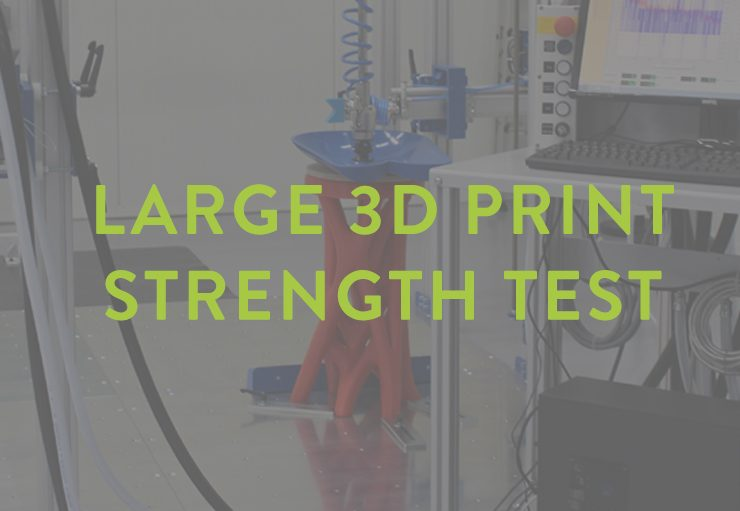XceL - 3D printed chair strength test