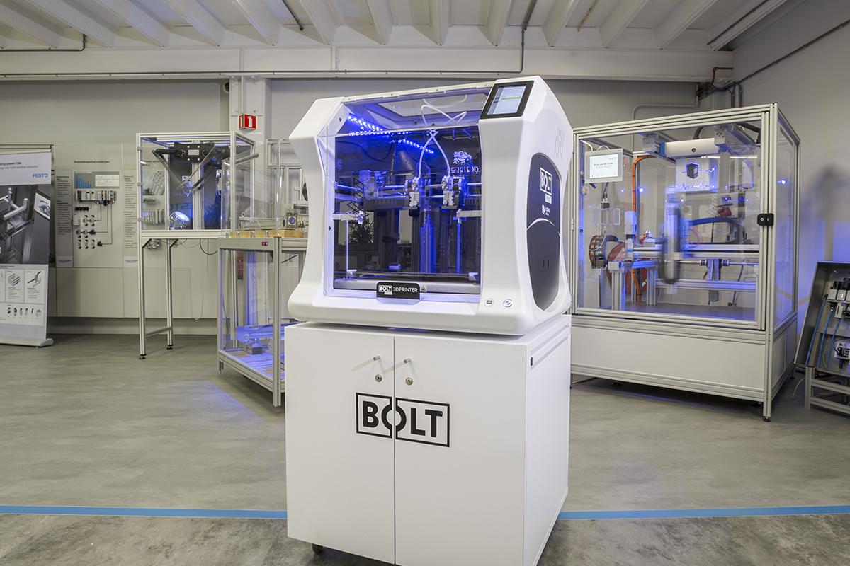 rollomatic, automation, robot, robotics, innovation, technology, tech, leapfrog 3D, bolt pro, 3d printer, 3d printing, multi-material, professional