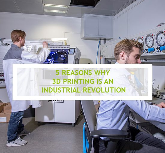 Why 3D printing is the third industrial revolution?