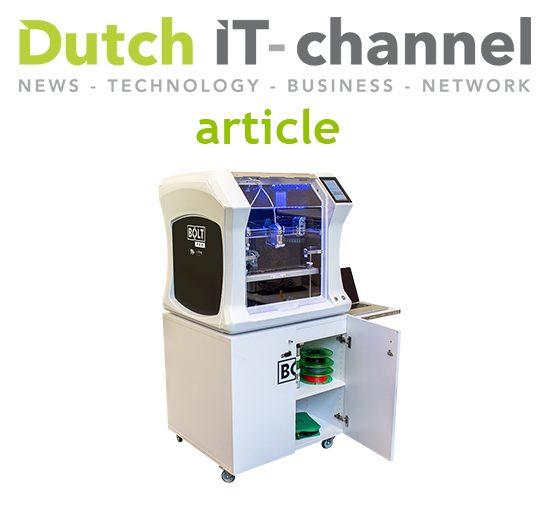 FM Industries introduces 3D workstation for Leapfrog BOLT PRO - review - Dutch IT-channel