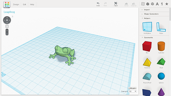 tinkercad / Leapfrog 3D printers